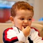 Comendo com gosto afinal, no dia do Aniversário, pode tudo!